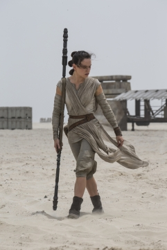 Star Wars: The Force Awakens..Rey (Daisy Ridley) ..Ph: David James..?Lucasfilm 2015