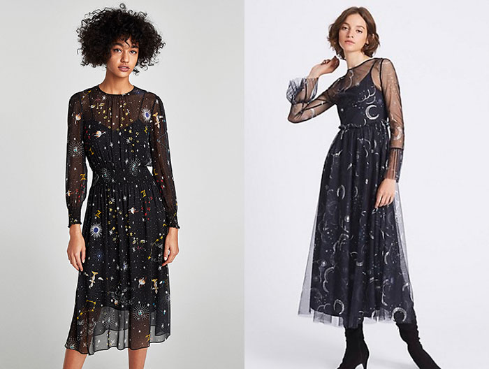 zara-and-marks-and-spencer-space-dresses