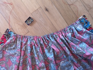 Nina Lee Kew skirt gathered